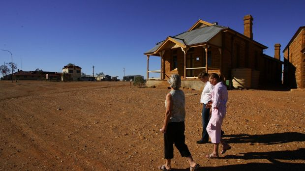 Heat wave: Tibooburra was the state's hottest place in 2014.