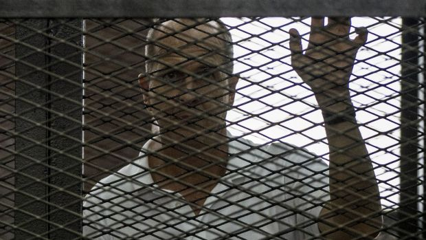 Australian a-Jazeera journalist Peter Greste has been deported to Australia.