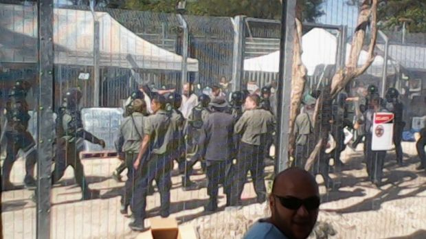 There have been reports of violence against detainees on Manus Island.