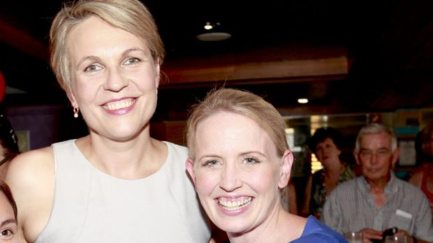 Tanya Plibersek and Kate  Jones