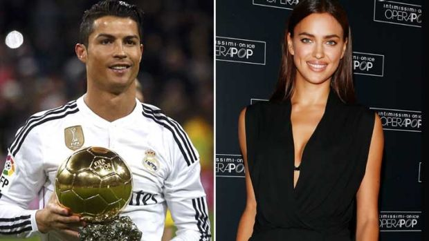 Split up: Cristiano Ronaldo and Irina Shayk.