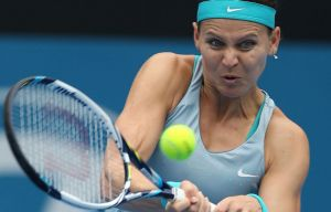 Fluid game: Lucie Safarova of the Czech Republic had a breakout 12 months last year.
