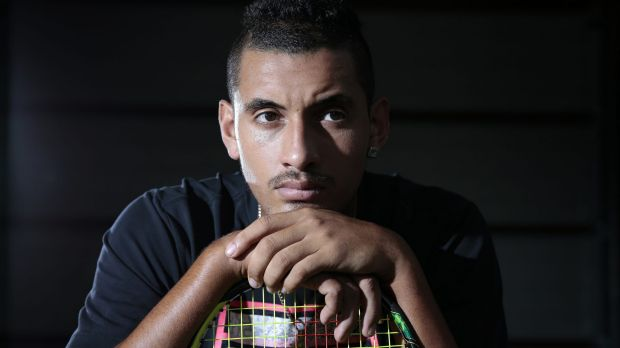 "Gratitude: ""[Tomic] wasn't jealous at all,"" says Nick Kyrgios. ""He was really supportive, sending me messages all the ..."