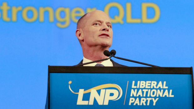 Premier Campbell Newman will speak at an LNP fundraising lunch on Wednesday.