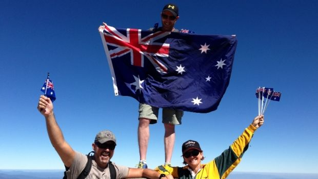 One way to celebrate our nation'™s day is with a climb to the top of Australia'™s highest point, Mount Kosciusko.