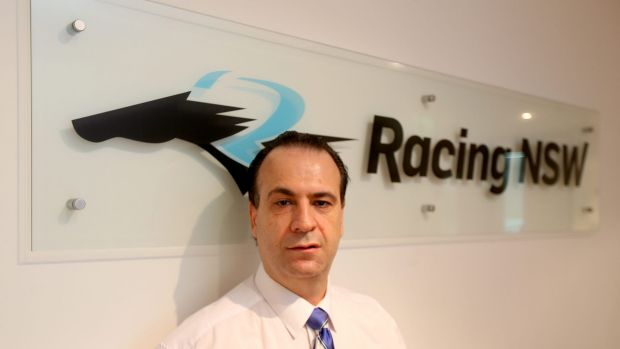 Courtroom win: Racing NSW chief executive officer Peter V'landys.