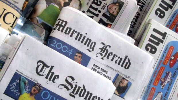 "A Fairfax spokesman said there were ""no plans to change from daily printing and we expect that to be the case for some ..."
