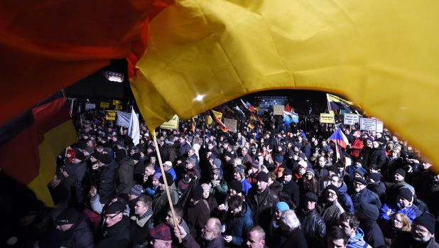 An anti-Islamic rally – like this one on January 12 – has been called off in Dresden over security fears.