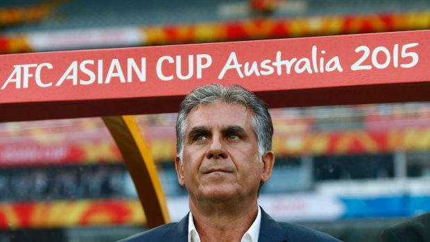 Warned: Iran's coach Carlos Queiroz.