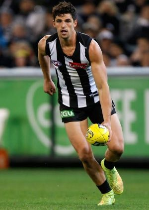 Collingwood captain Scott Pendlebury. The Magpies on Wednesday unveiled what they labelled a 'special membership package ...
