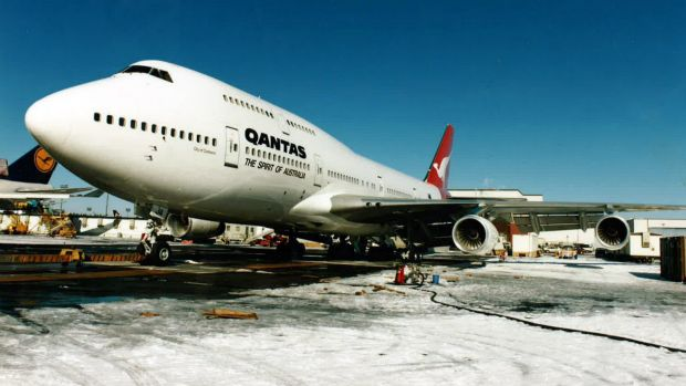 Wollongong bound: City of Canberra set a record in 1989 for flying non-stop from London to Sydney.