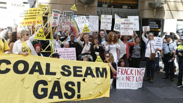 Flowback: Opponents of AGL's CSG plans say environmental controls are not being enforced.