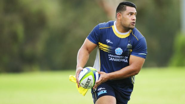 Brumbies prop Scott Sio is set to play his first match in six months.