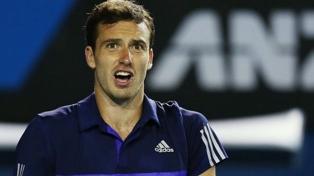 Ernests Gulbis: the home supporters got under his skin.