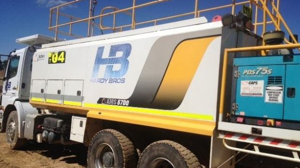 Police are looking for witnesses after trucks holding 10,000 litres of diesel were stolen from a construction site.