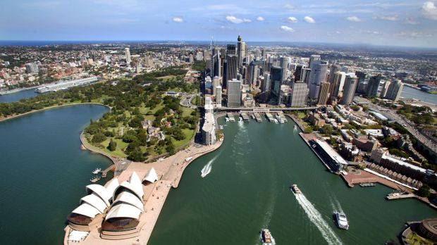 Sydney's economy is booming while the rest of the country remains sluggish