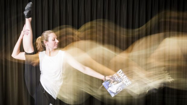 Calwell High School dance teacher Kym Degenhart kick starts her teaching year with the Ausdance ACT'™s Move Up workshop.