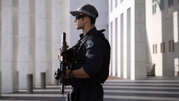 Attack likely: Police are on high alert across the nation.