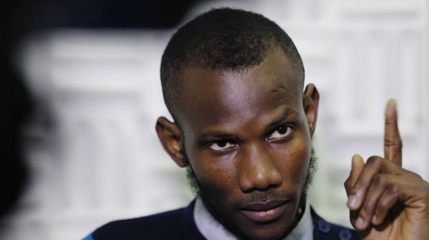 Naturalised ... Malian Lassana Bathily, a Muslim employee who helped Jewish shoppers hide in a cold storage room from an ...