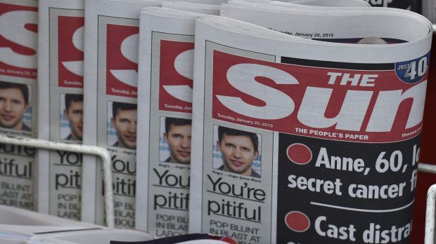 Despite reports that <i>The Sun</i> newspaper had  dropped pictures of topless women who have appeared almost every day ...