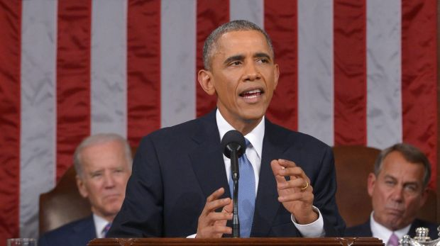 US President Barack Obama's State of the Union speech was full of firsts.
