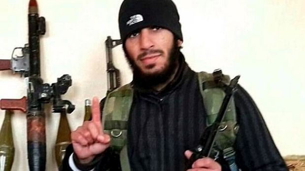 A picture of Mohamed Elomar, from either Syria or Iraq.