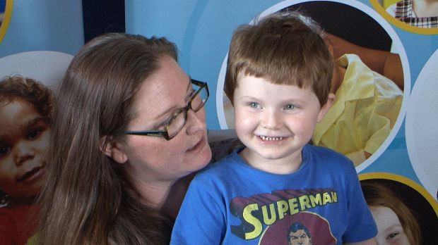 Diabetic Xavier Hames (pictured with mum Naomi) became the first person to be fitted with a device that monitors his ...