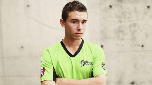 Young gun: Sydney Thunder's Jake Doran.