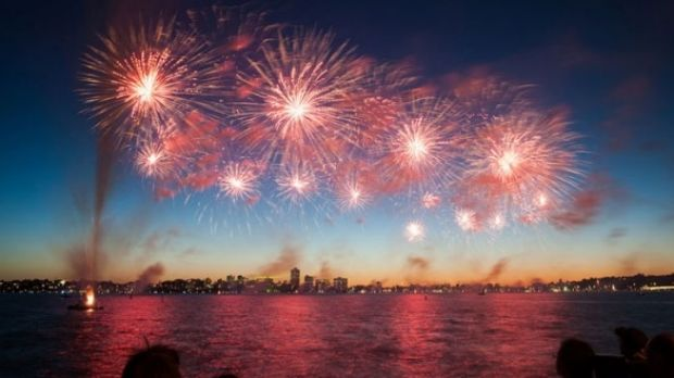 Perth will again light up with a fireworks spectacular on Monday for Australia Day.