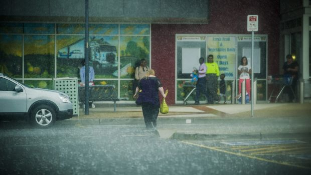 Canberrans experienced the wettest January in more than decade.