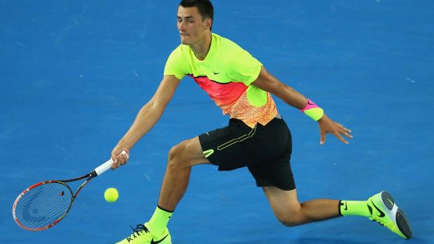 Ground control: Bernard Tomic may have benefited from a broader education.