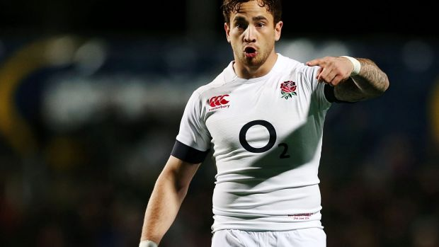 England five-eighth Danny Cipriani.