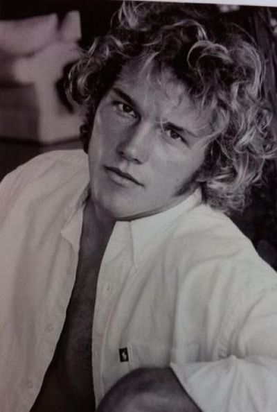 """Chris Pratt: """"The name's Douchemaster McChest And this is my first headshot. You're welcome. #throwbackthursday circa 2000"""""""