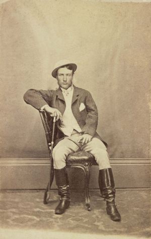 Marcus Clarke, perhaps Melbourne's first bohemian, in 1866.