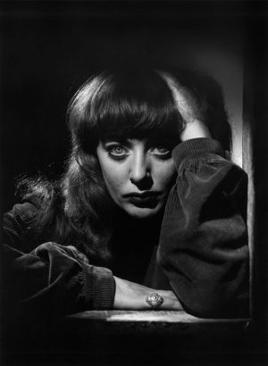 <i>Portrait of Vali Myers</i>, by Norman Ikin, circa 1949.