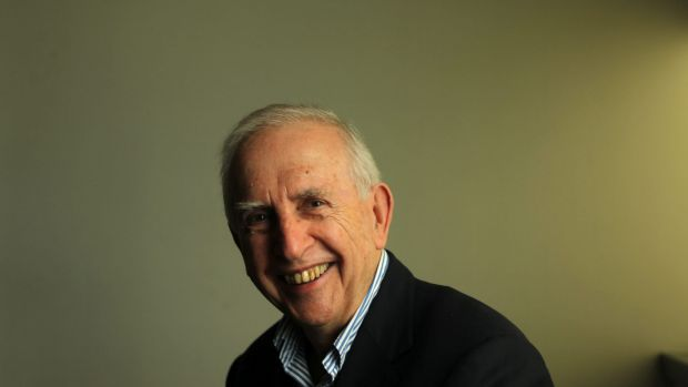 Social researcher and author Hugh Mackay .