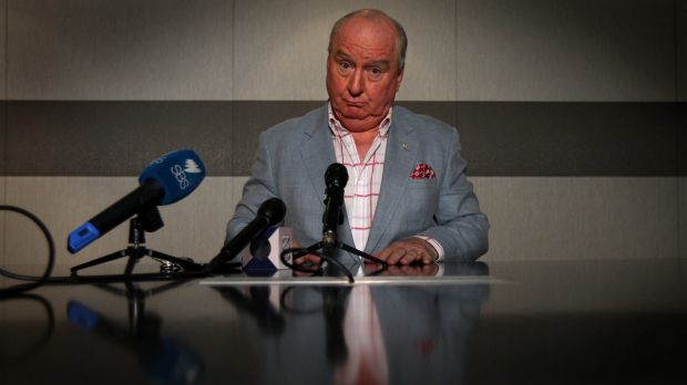 Broadcaster Alan Jones has continued his attack on Campbell Newman.