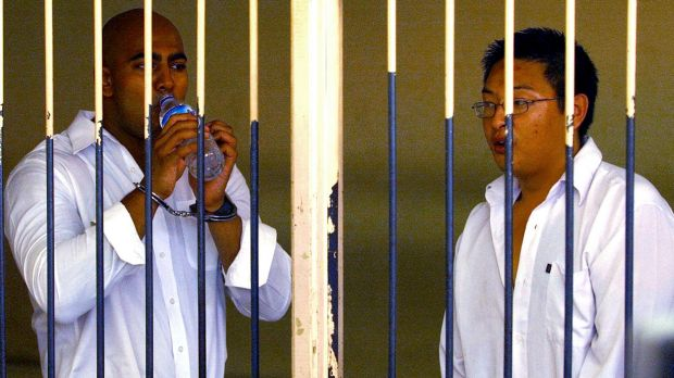 ON DEATH ROW: Andrew Chan and Myuran Sukumaran.