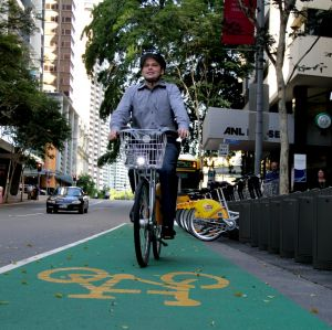 Deputy mayor Adrian Schrinner says Brisbane's inner-city, home of the CityCycle scheme, could benefit from voluntary ...