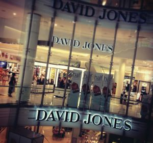 The first big changes to the David Jones range will emerge next month.