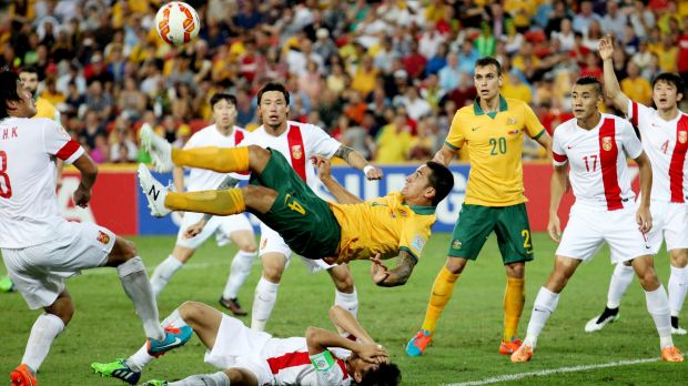 Interesting times: After Tim Cahill and the Socceroos showed China how it's done on the field, will Australian football ...