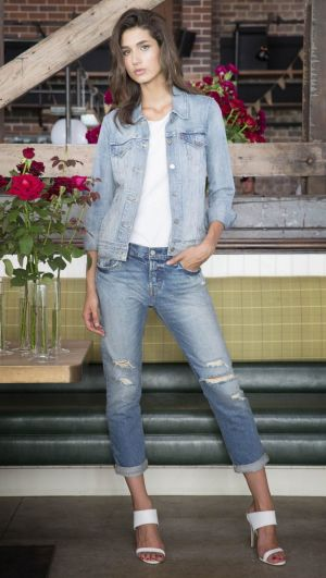 """By popular demand: Levi's 501CT """"mom"""" jeans."""
