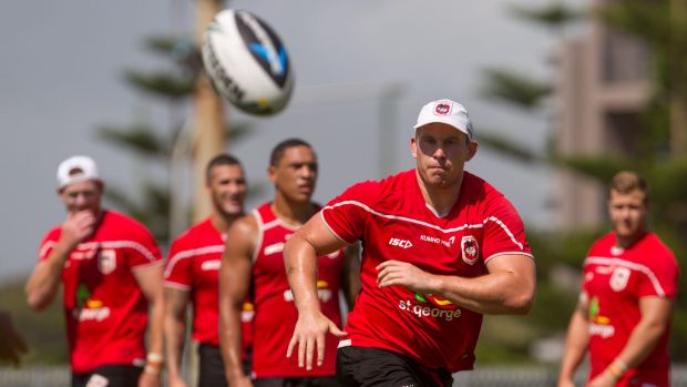Family matters: St George Illawarra forward Mike Cooper.