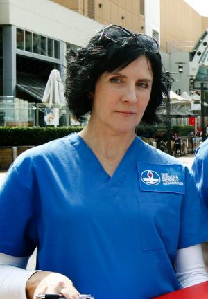Annie Butler has warned nurses are prepared to take industrial action if their conditons are threatened