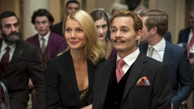 Her new film, Mortdecai, is unlikely to win her any new fans.