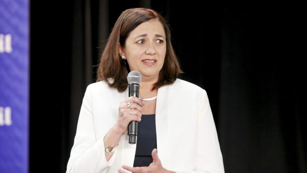 Opposition Leader Annastacia Palaszczuk says Labor would prepare an infrastructure plan within 12 months of winning ...