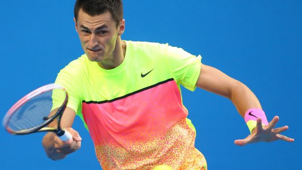 Bernard Tomic gave a frank assessment on the playing style of fellow Australian, Sam Groth.