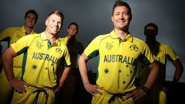 Testing times: Michael Clarke (right) is keen to hold on to the captaincy despite his injury woes.