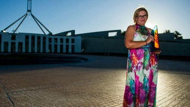 Rosie Batty was named Australian of the Year on Sunday night.