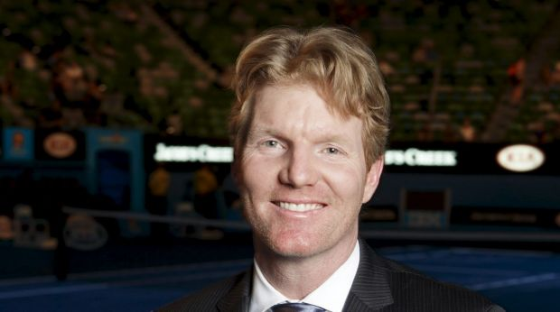 US Davis Cup captain Jim Courier.